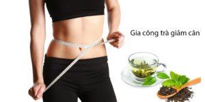9.Quy trình gia công trà giảm cân 1
